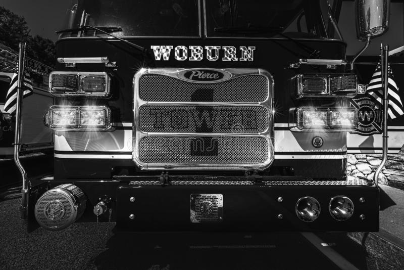 Woburn Tower 1 fire engine royalty free stock image