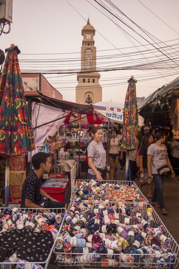WOCHENENDEN-MARKT THAILANDS BANGKOK CHATUCHAK stockfotos