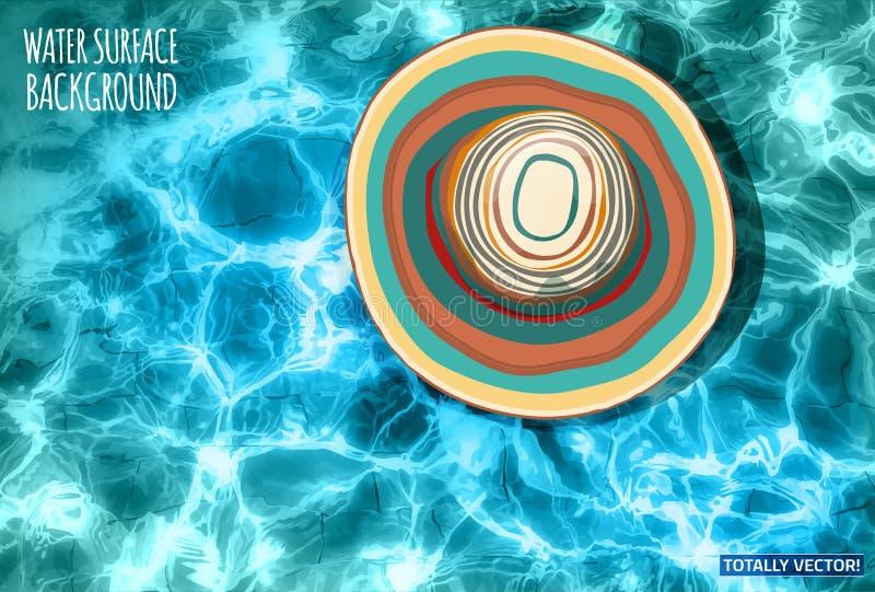 09 wod tła nawierzchniowa praca ilustracja wektor