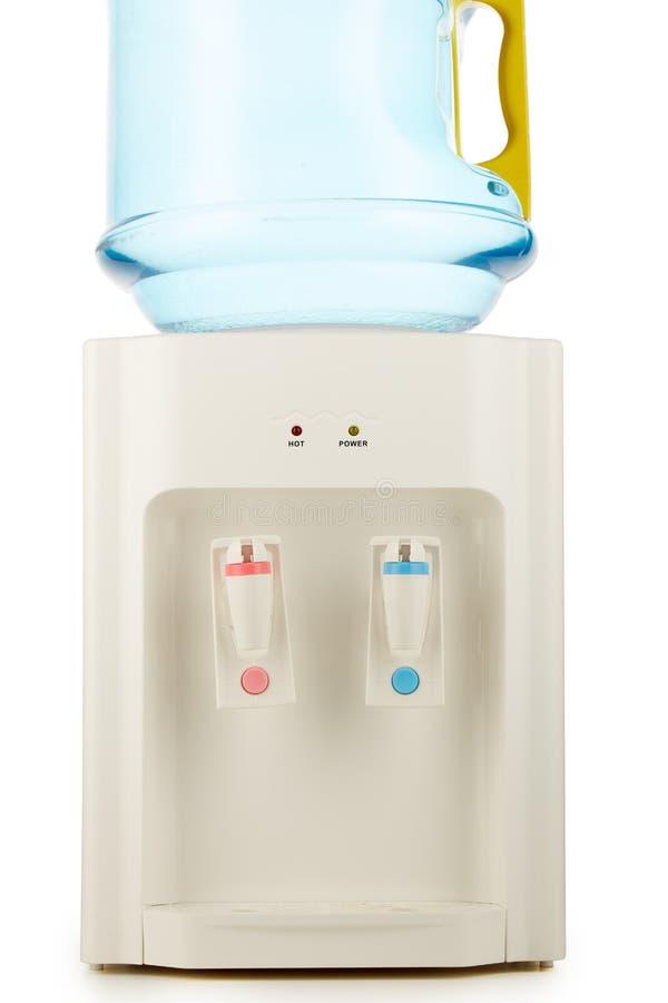 Woda chłodno z czystą wodą zdjęcie stock