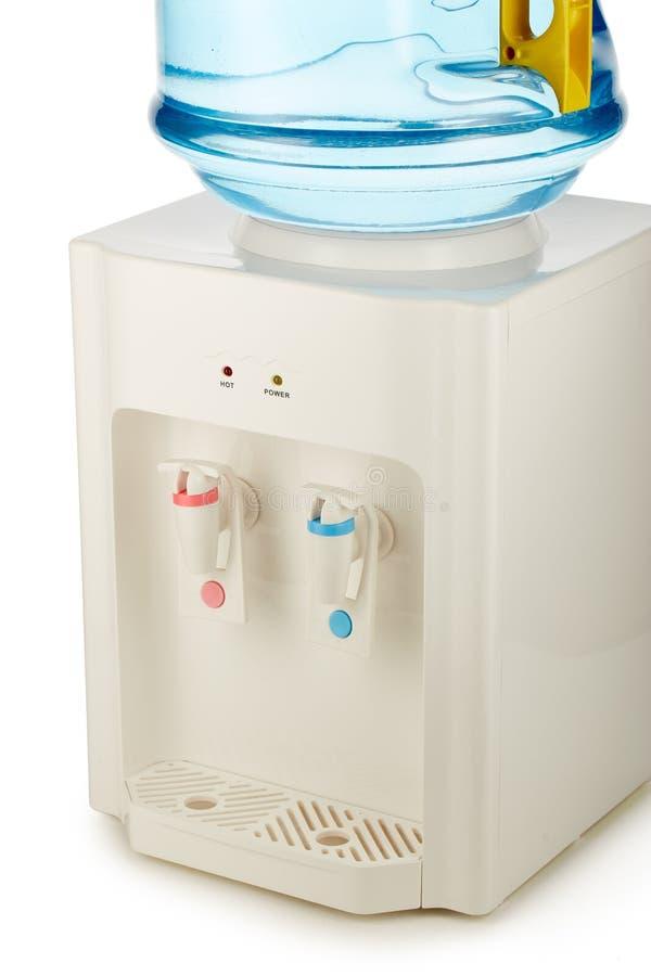 Woda chłodno z czystą wodą fotografia stock