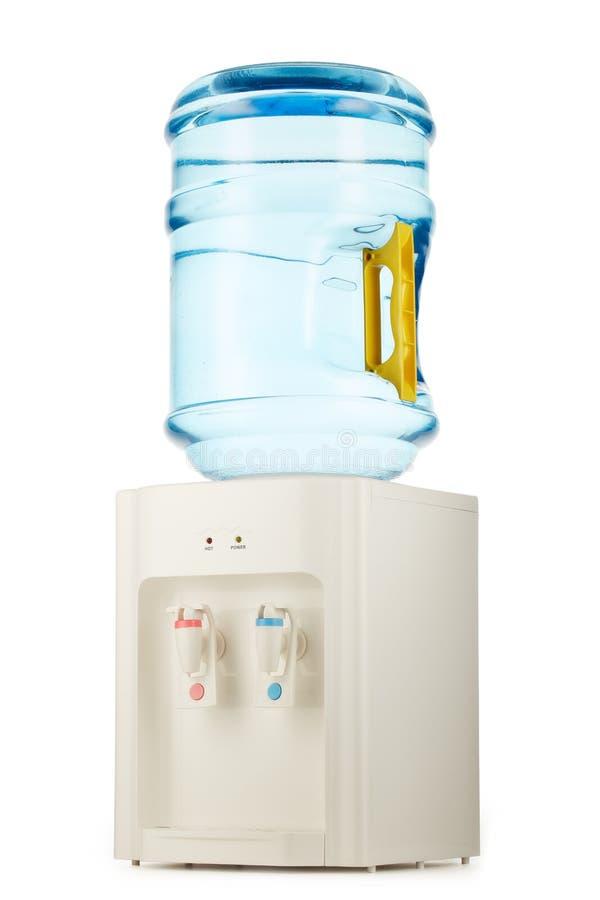 Woda chłodno z czystą wodą fotografia royalty free