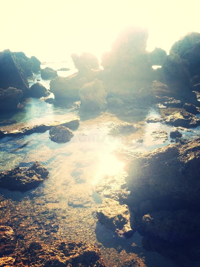 Woda kochająca obraz stock