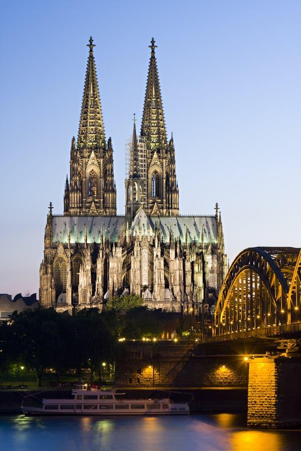 woda kolońska katedralny German zdjęcia royalty free