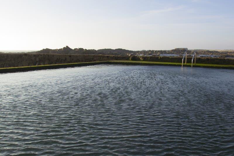 Woda morska basen obrazy royalty free
