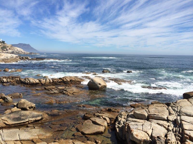 Woda na skałach zdjęcie royalty free