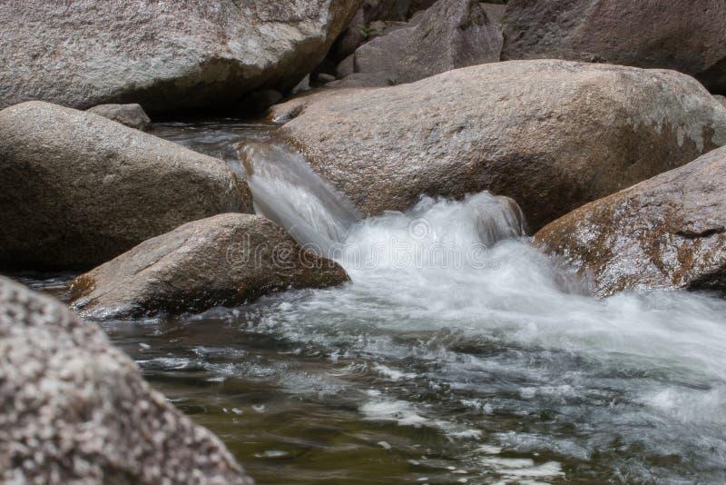 Woda przepływy obraz royalty free