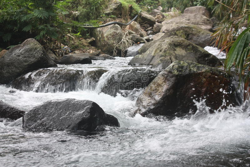 Woda rzeczna obrazy royalty free