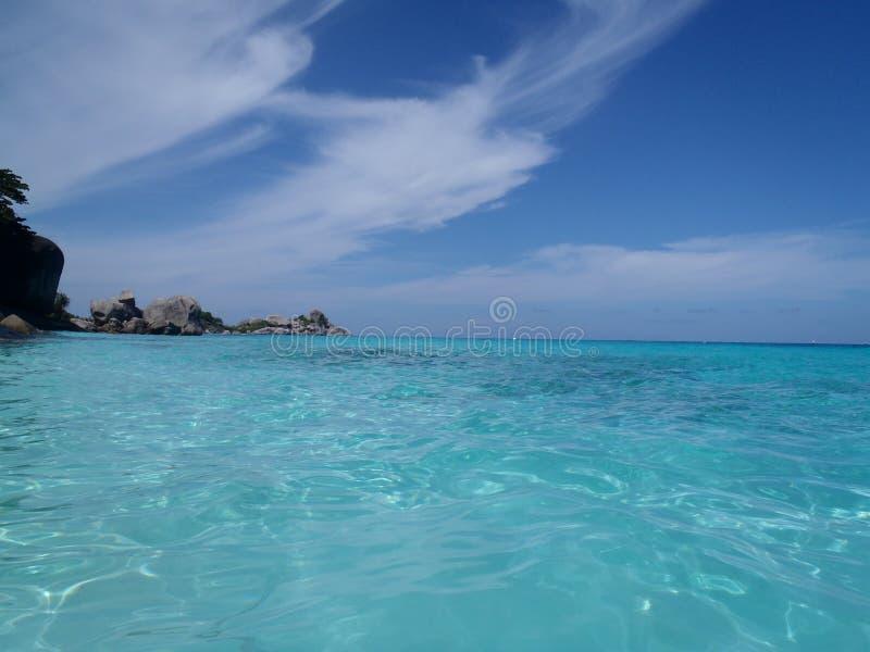 Woda, słońce i materiał, zdjęcie royalty free