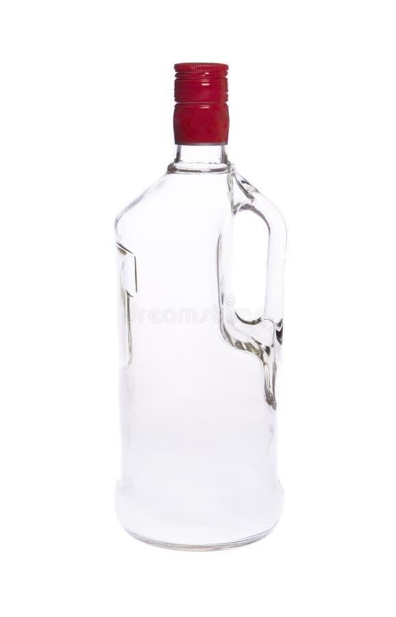 Download Wodkaflasche stockfoto. Bild von blau, feier, vertikal - 12200996