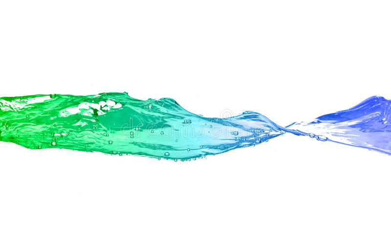wodna fala obrazy stock