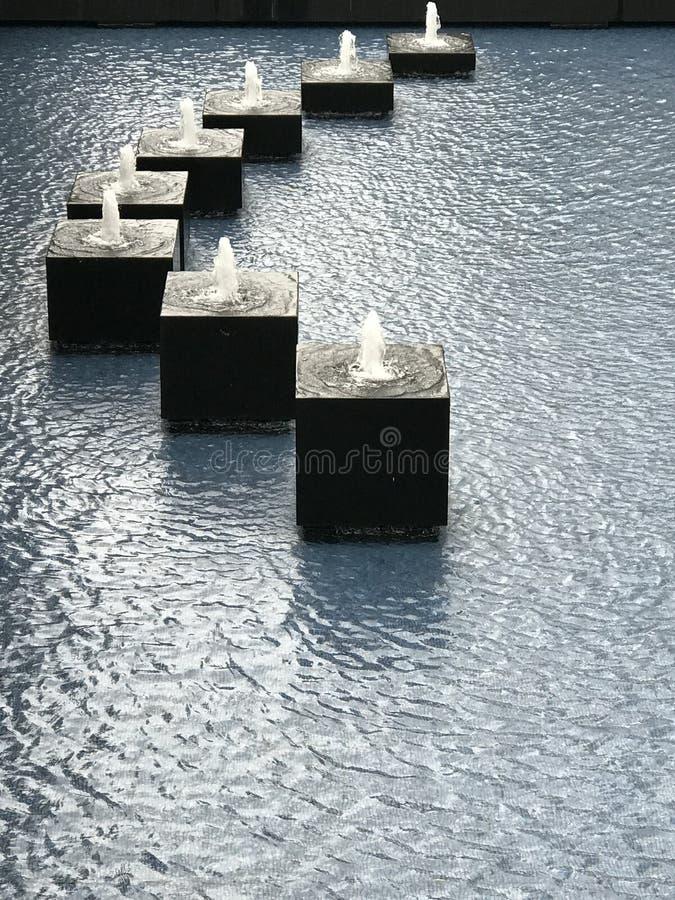 Wodna fontanna obraz royalty free