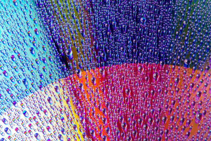 Wodna kropelka fotografia stock