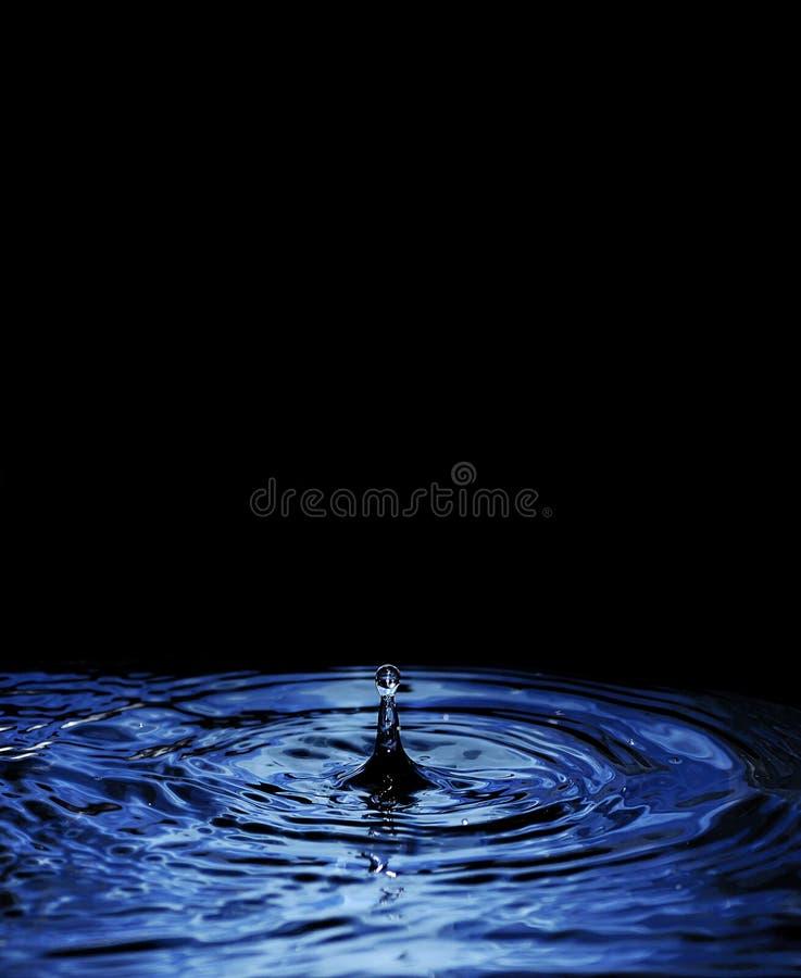 Wodna kropla zdjęcie royalty free