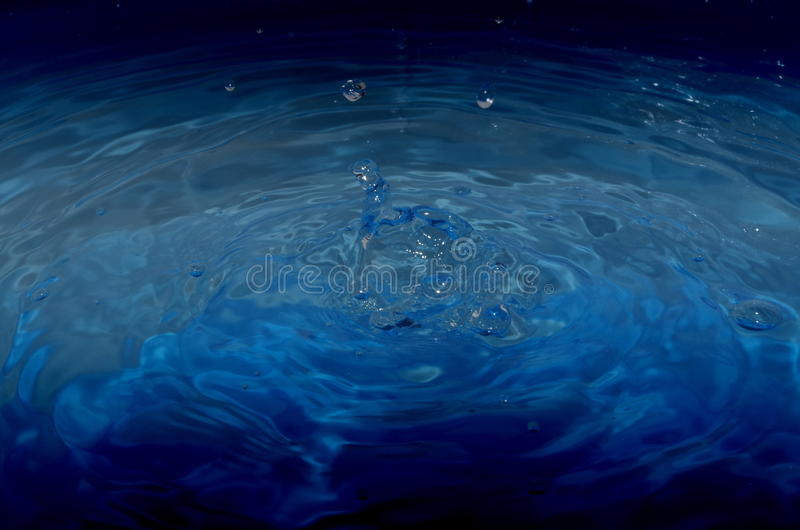 Wodna kropla obraz stock