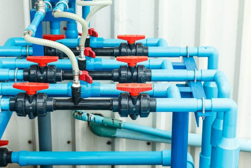 Wodna PVC drymby sekcja zdjęcie stock