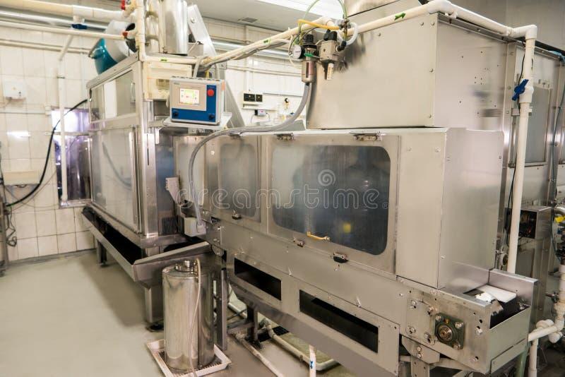 Wodna rozlewnicza maszyna zdjęcie stock