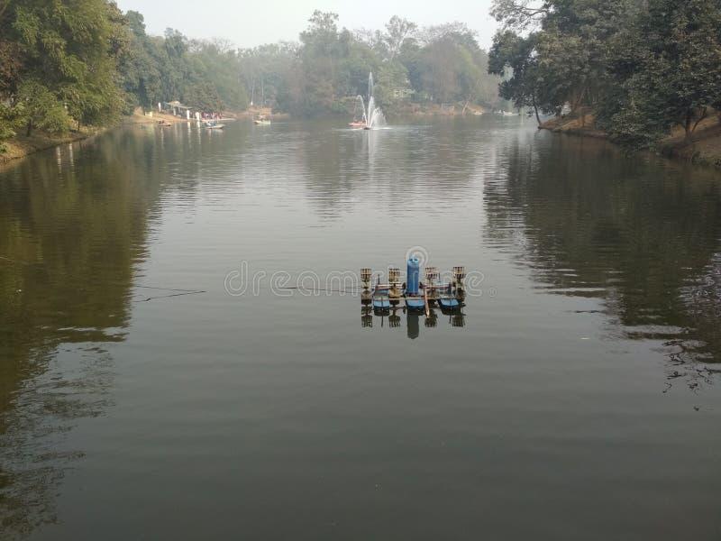 wodna scena zdjęcie royalty free