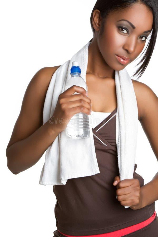 wodna sprawności fizycznej kobieta zdjęcia royalty free