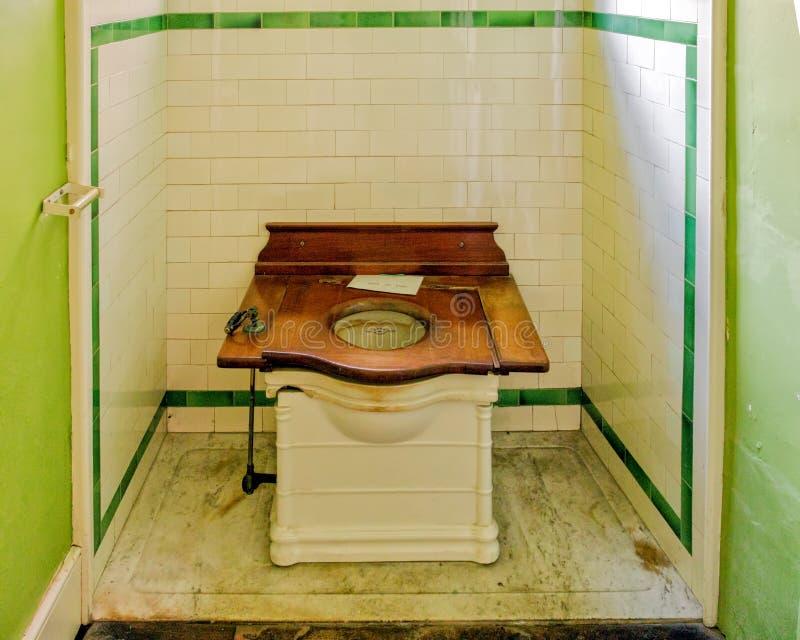 Wodna szafa, Croft kasztel, Herefordshire obraz stock