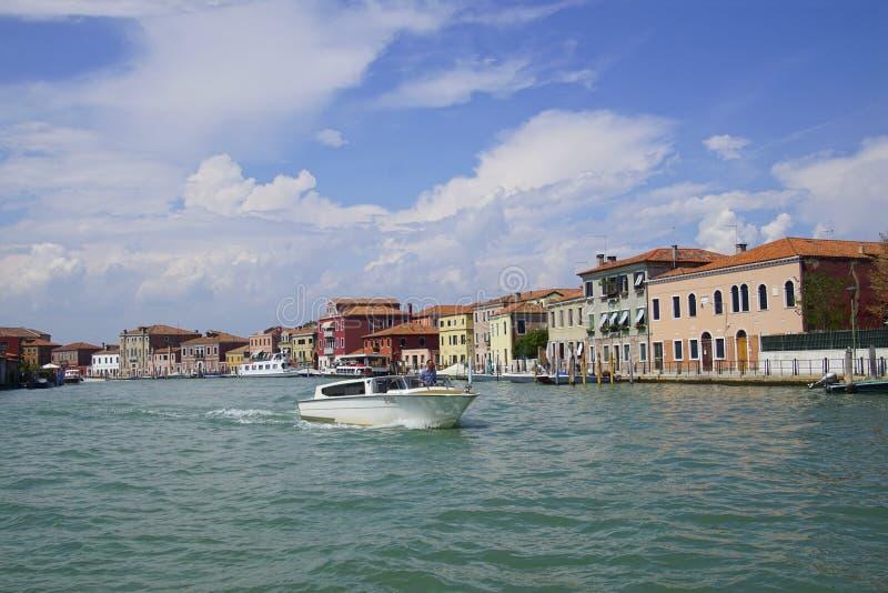 Wodna taxi łódź w Grand Canal fotografia stock