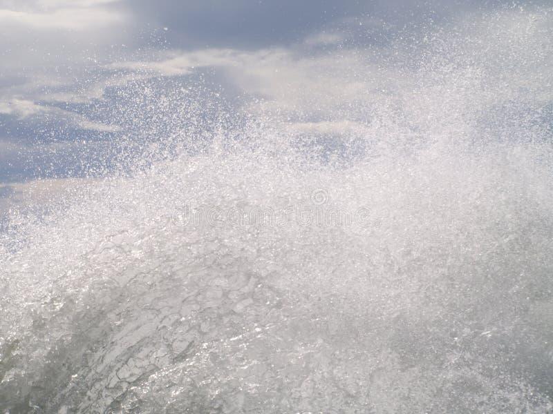 Wodna trąba powietrzna obrazy stock