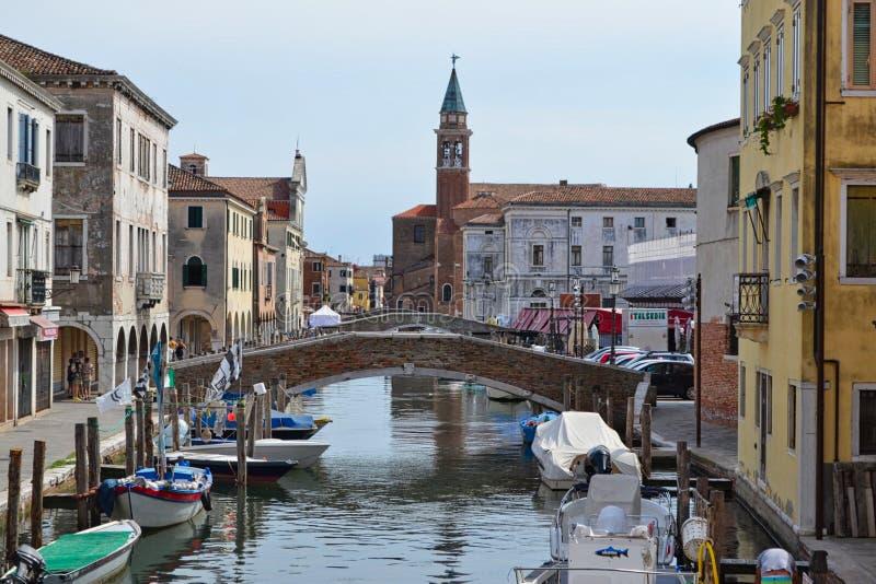 wodna ulica w Venice zdjęcie royalty free