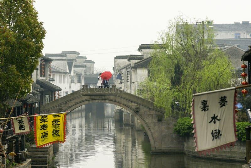 Wodna wioska Xitang fotografia stock