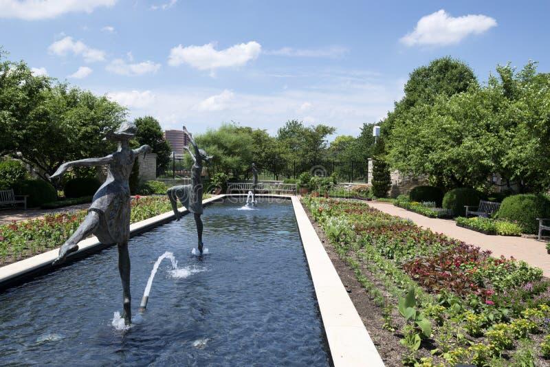 Wodne fontanny obraz stock