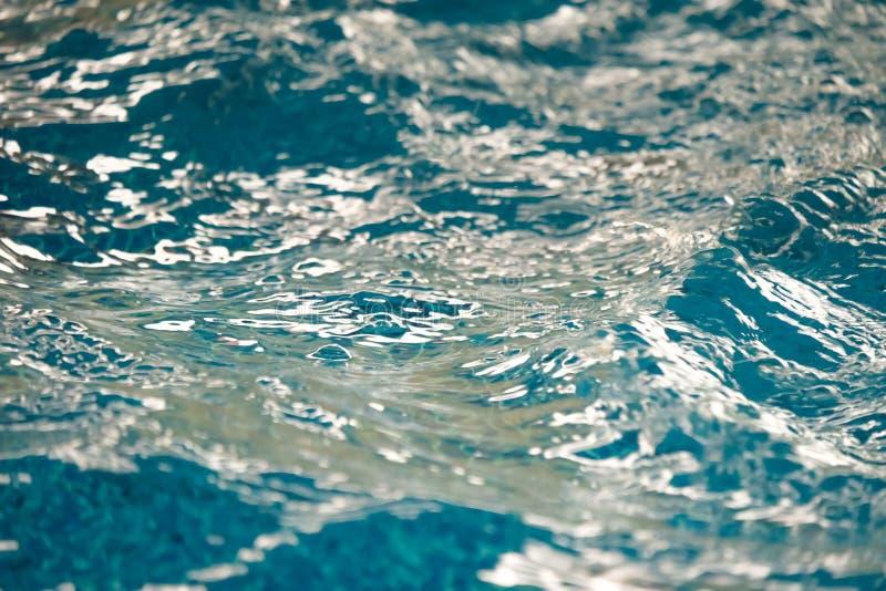 Wodnego basenu fala zakończenie up obraz stock