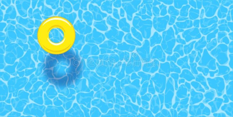 Wodnego basenu lato ilustracji