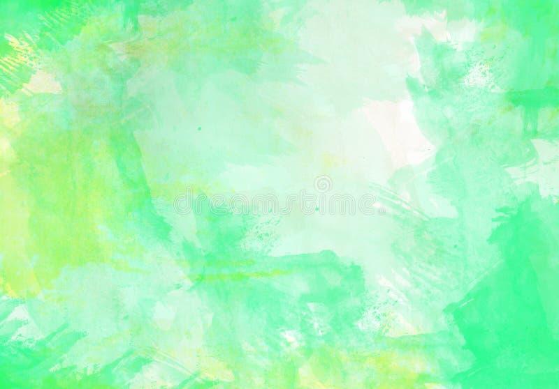 Wodnego colour muśnięcia uderzenia graficzny skutek ilustracji