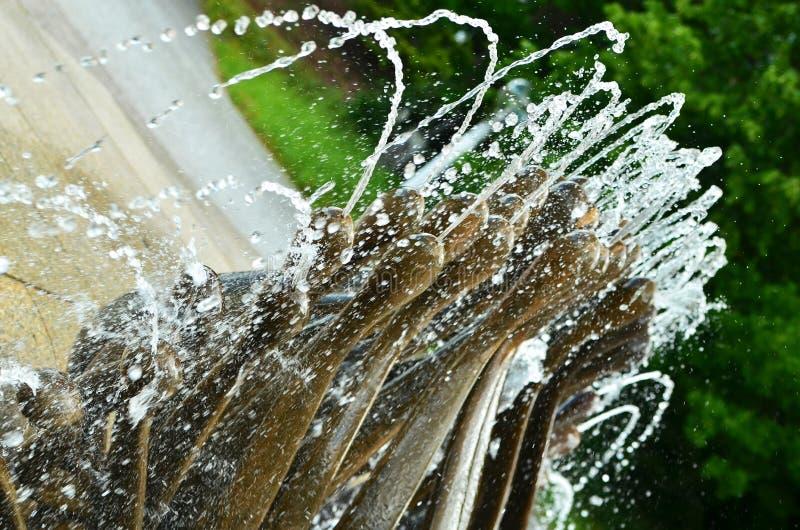 Wodnej fontanny Marienbad Marià ¡ nské Là ¡ znÄ› obrazy royalty free