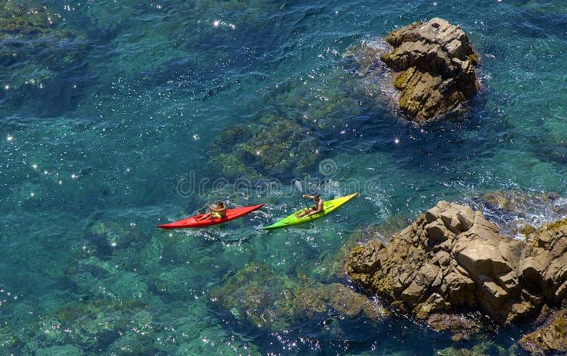 Wodni sporty w Hiszpania obrazy stock