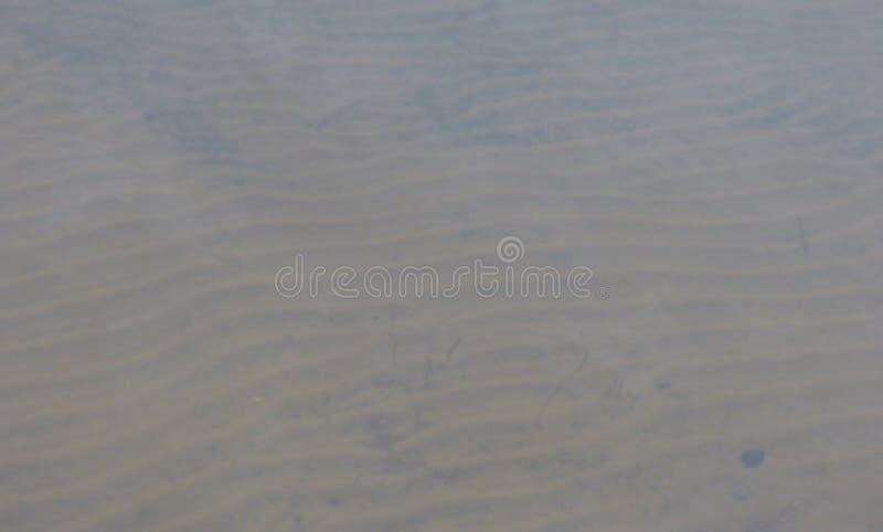 Wodny czochra piasek zdjęcia royalty free