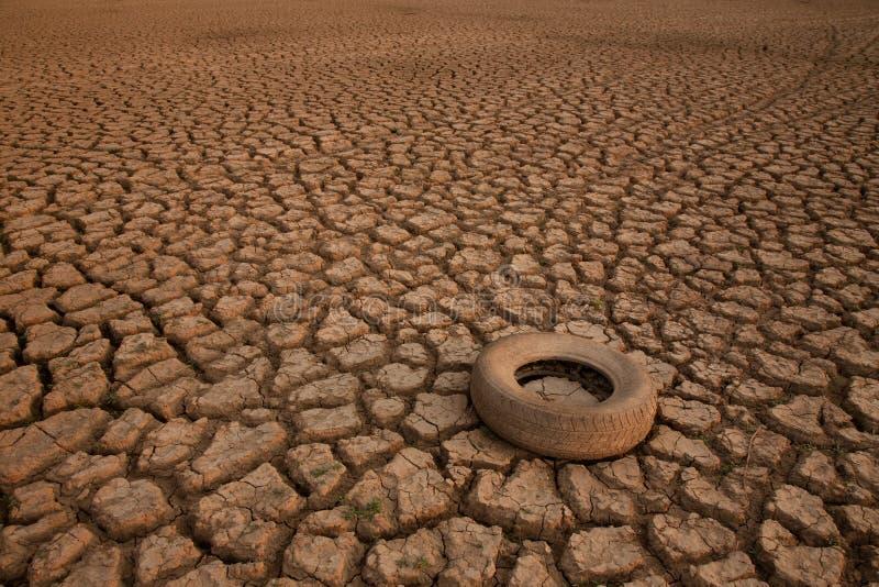 Wodny kryzys i zmiana klimatu pojęcie obrazy royalty free