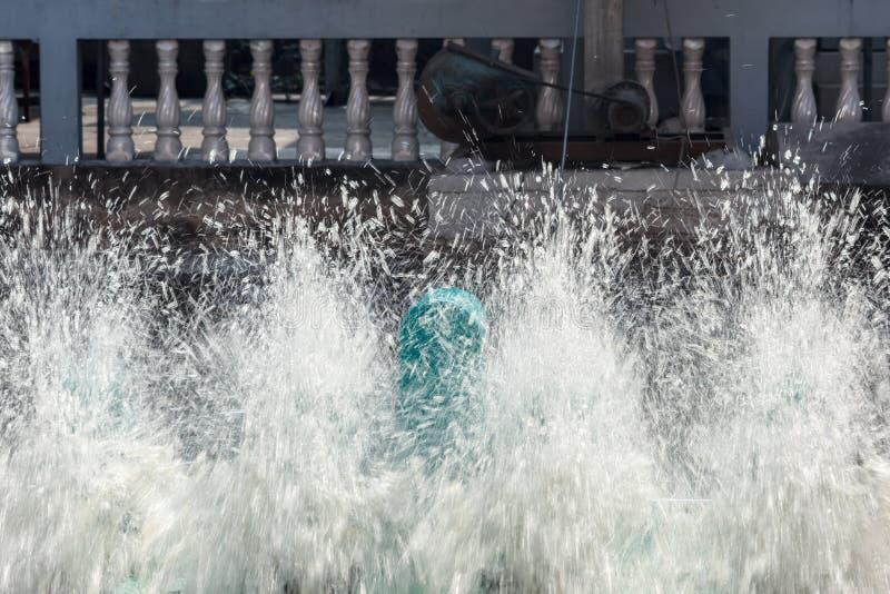 Wodny napowietrzenie zdjęcie stock