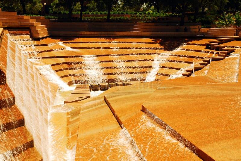 Wodny ogród, Ft Worth zdjęcia royalty free