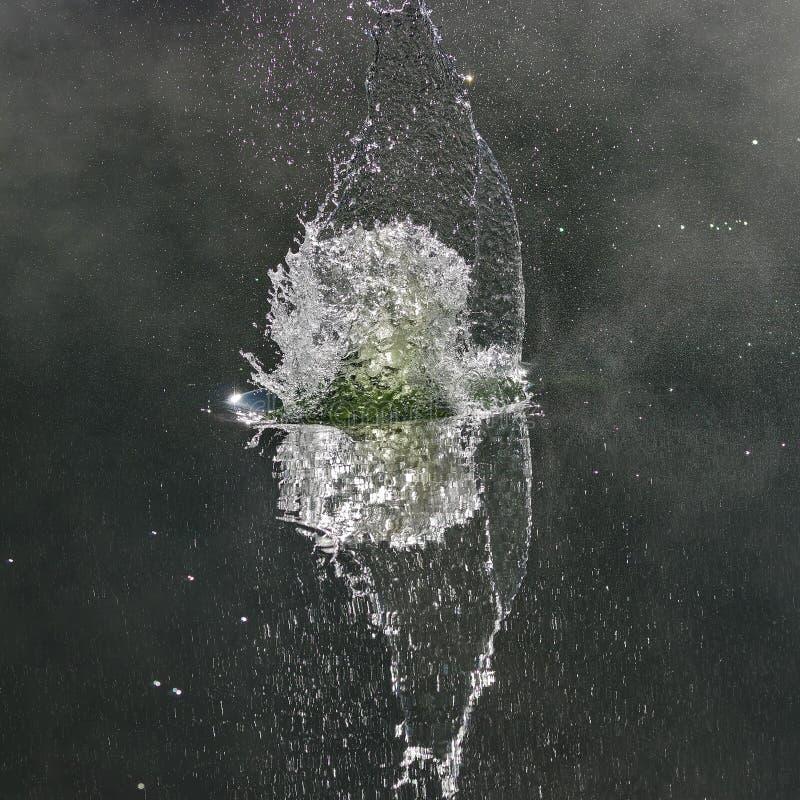 Wodny pluśnięcia tło 3 zdjęcie royalty free