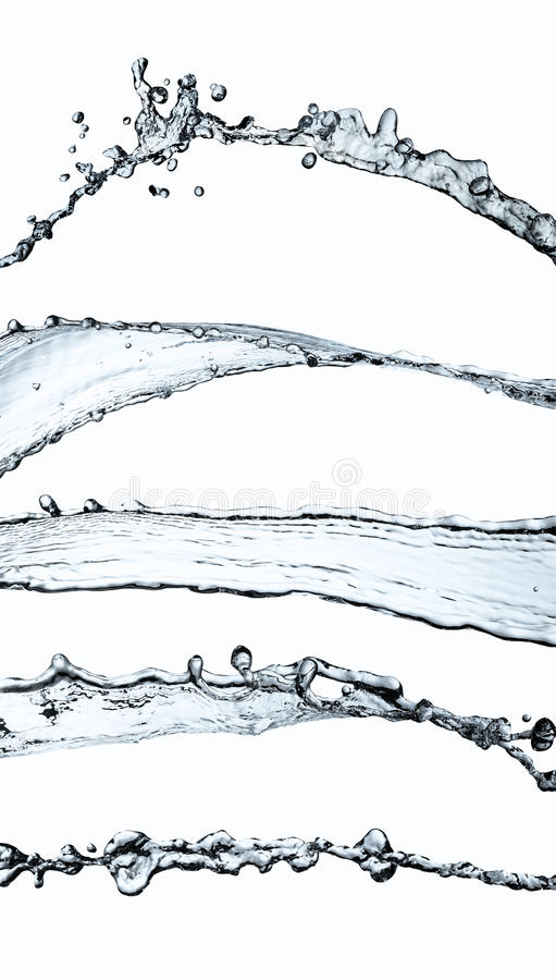 Wodny pluśnięcie royalty ilustracja