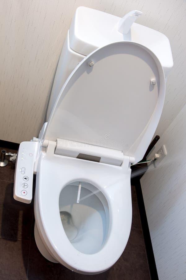 Wodny rozpyla od toaletowego pucharu obraz royalty free