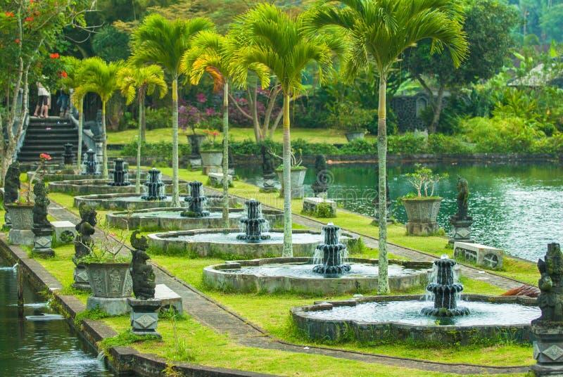 Wodny Tirtagangga Pałac obraz royalty free