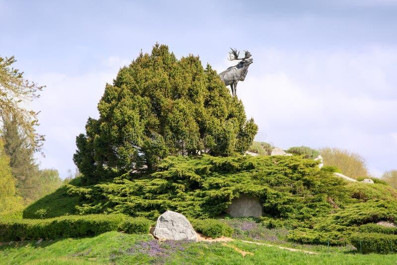Wodołazu Wojenny pomnik Francja zdjęcia stock