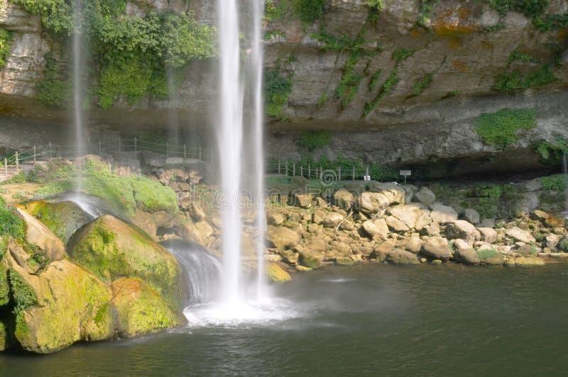 wodospad malownicza zdjęcia stock