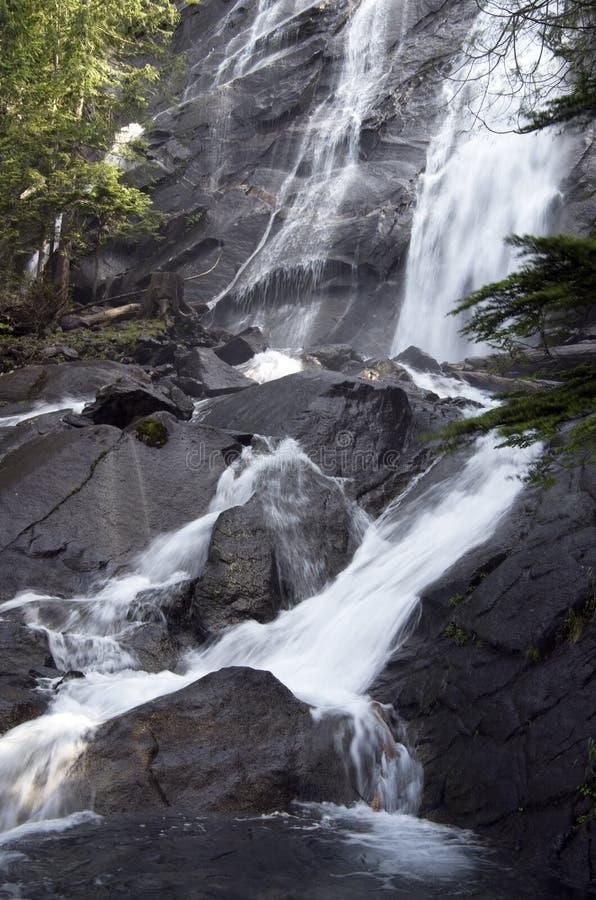 Download Wodospad marzycielska obraz stock. Obraz złożonej z skały - 41952587