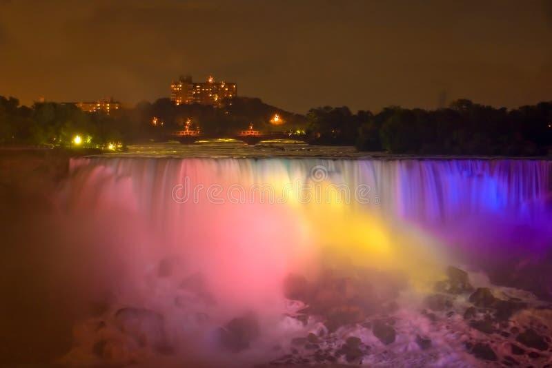 wodospad niagara rainbow zdjęcie royalty free