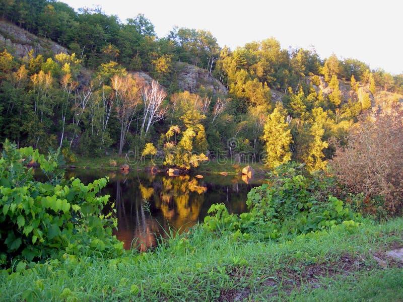 wodospad niagara słońca fotografia stock