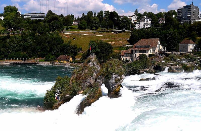 Wodospady Schaffhausen obraz royalty free