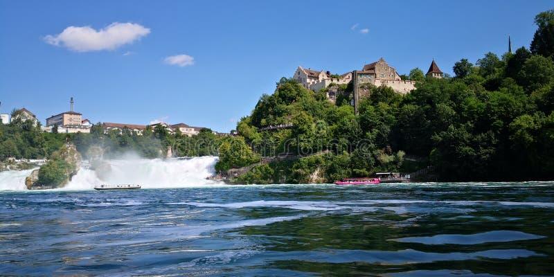 Wodospady Schaffhausen zdjęcie stock