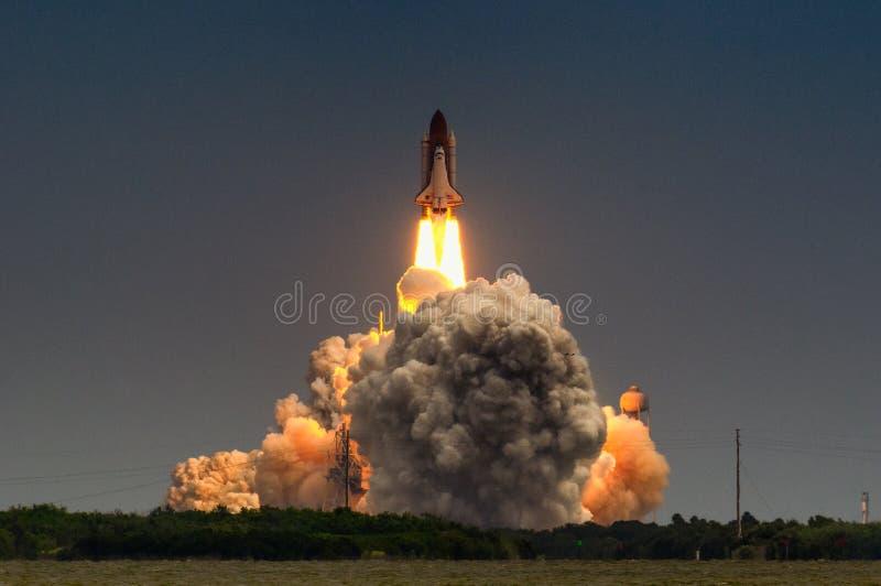 Wodowanie Atlantis-STS-135 fotografia stock